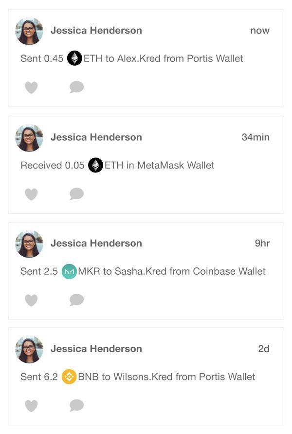 Make your Wallet Social